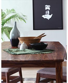 Mango Wood Sky dining table